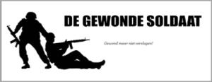 logo gewonde soldaat